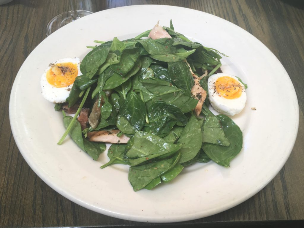 Young Spinach & Mustard Grilled Chicken Salad