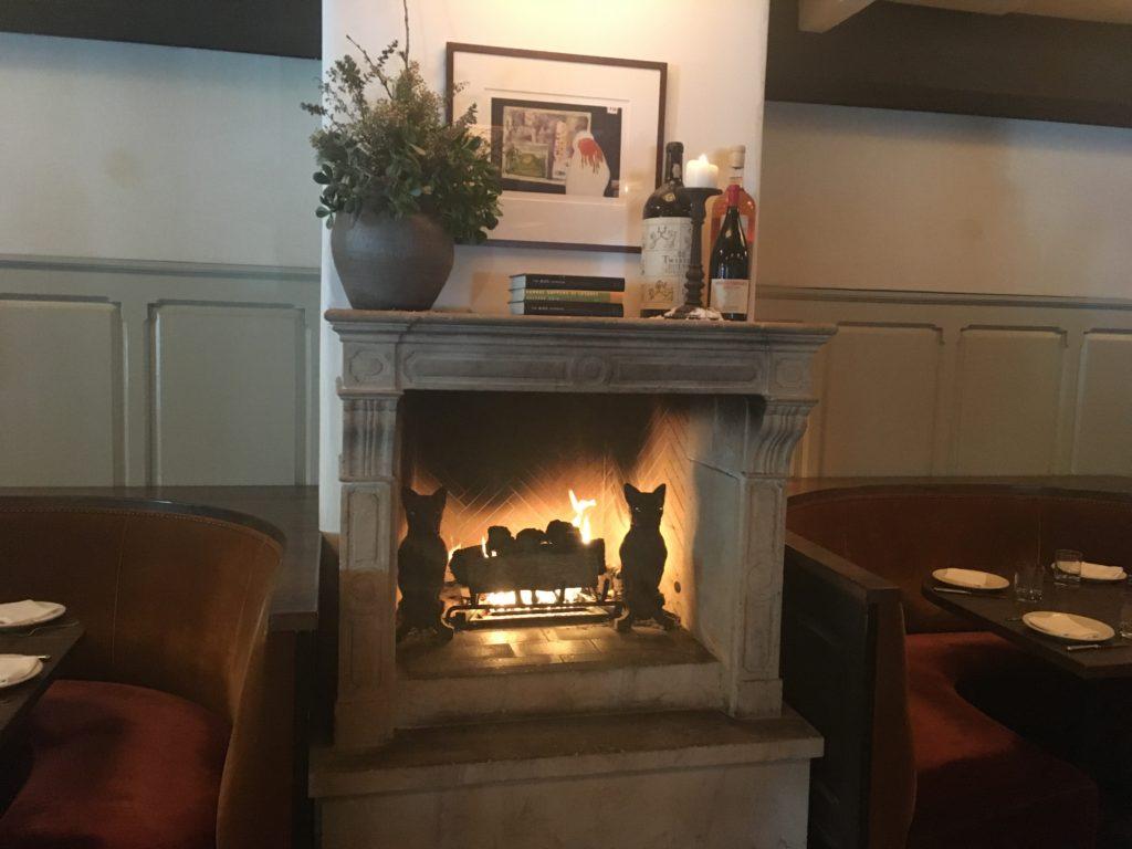 Inside Fireplace