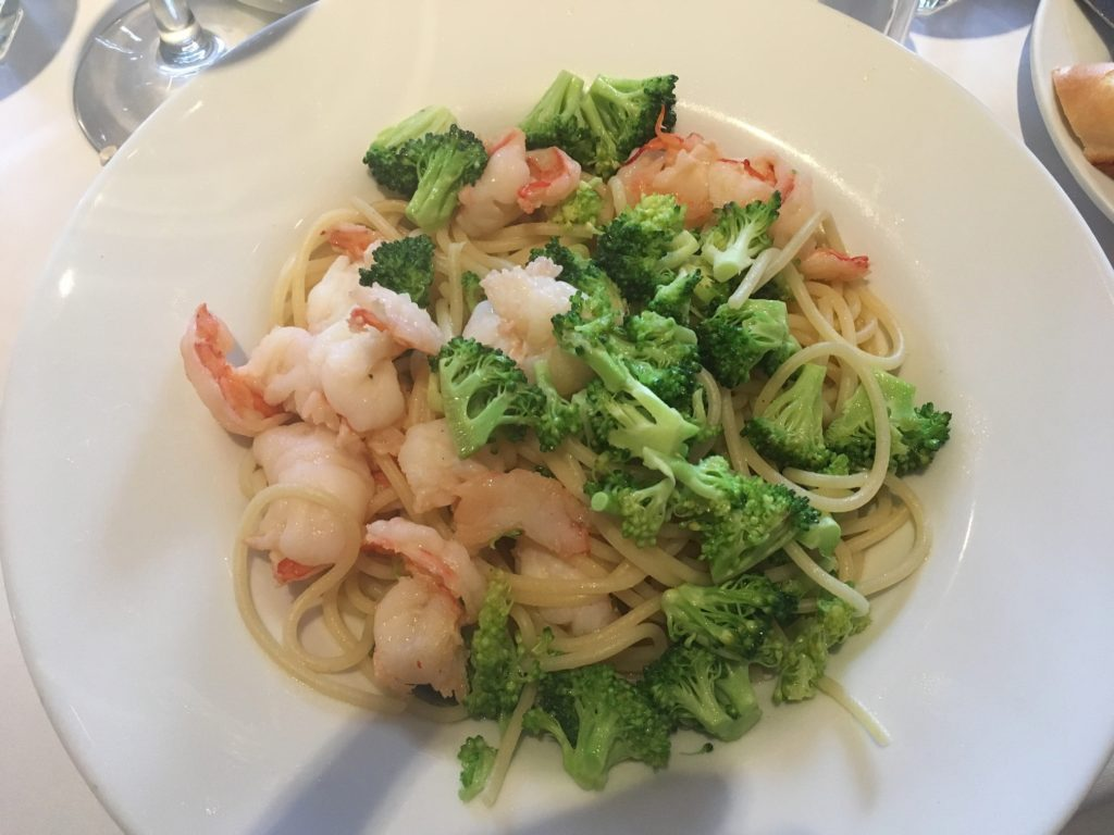 Spaghetti Broccoli & Tiger Shrimps
