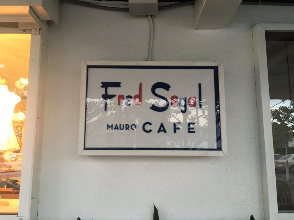 Fred Segal Mauro Cafe