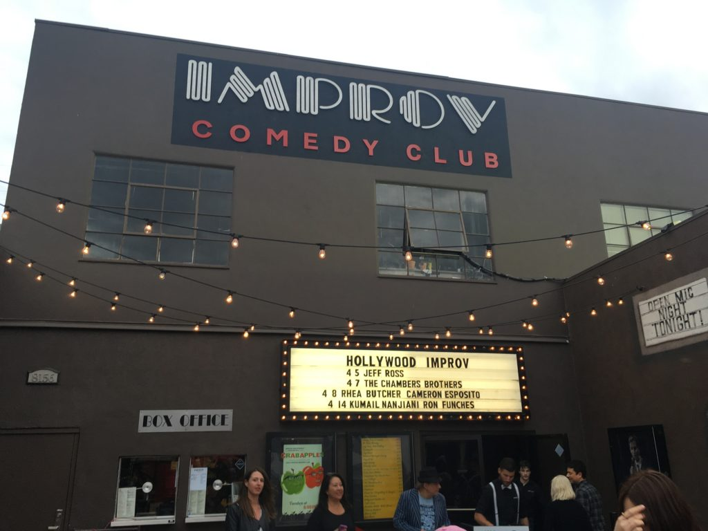The Ash Grove at the Improv
