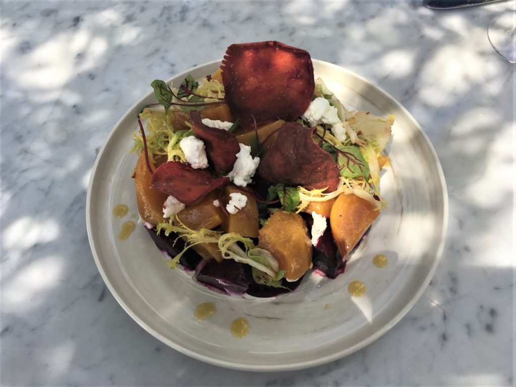 Red & Golden Beet Salad