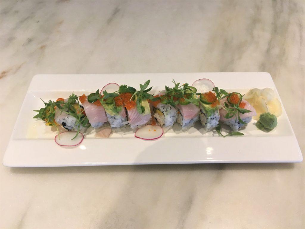 Crab & Hamachi Roll