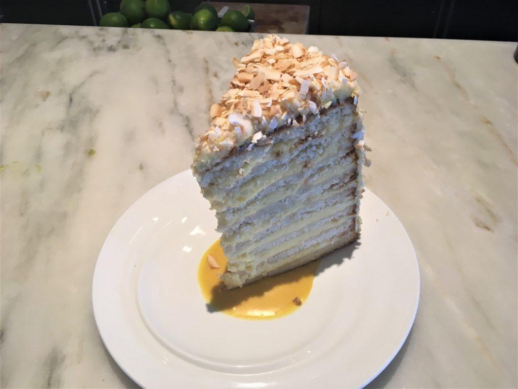 Nine Layer Coconut Cake