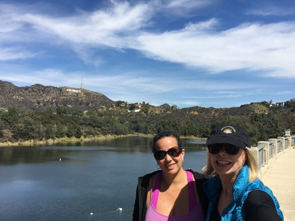 Gretchen & Devon on the Dam