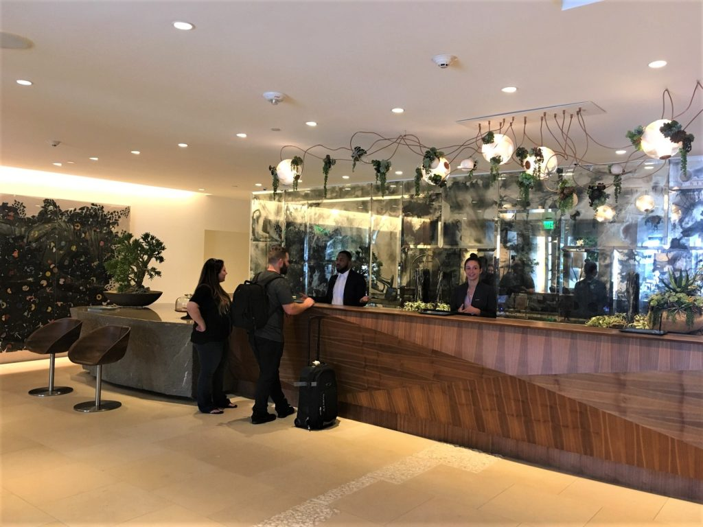 Front Desk at the Dream Hotel