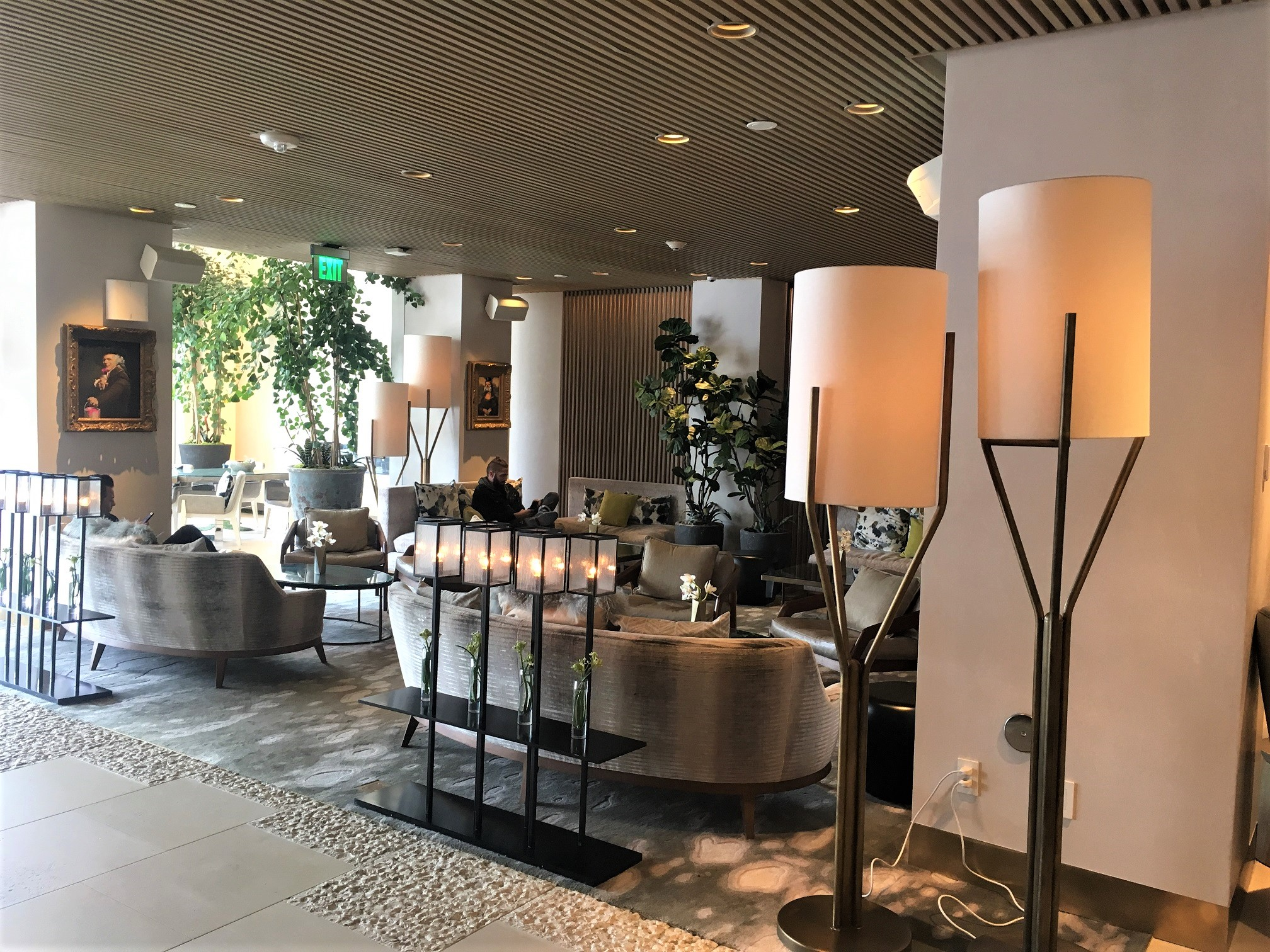 Lobby Lounge at the Dream Hotel