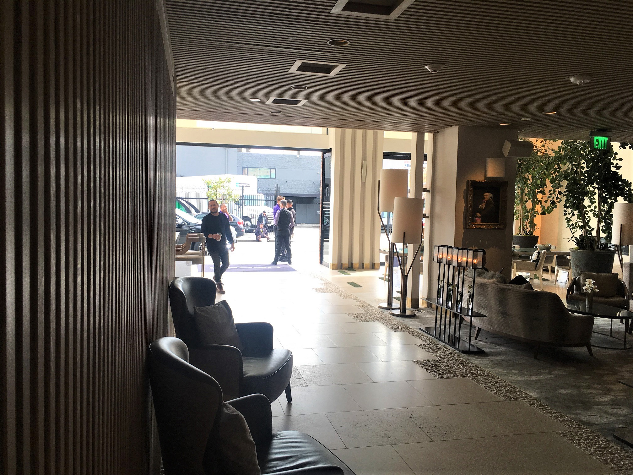 Lobby at the Dream Hotel
