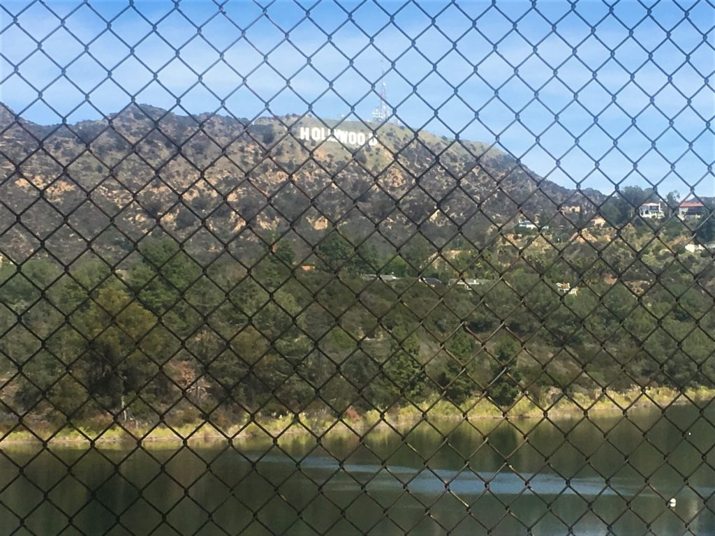 Walk View of Hollywood Sign