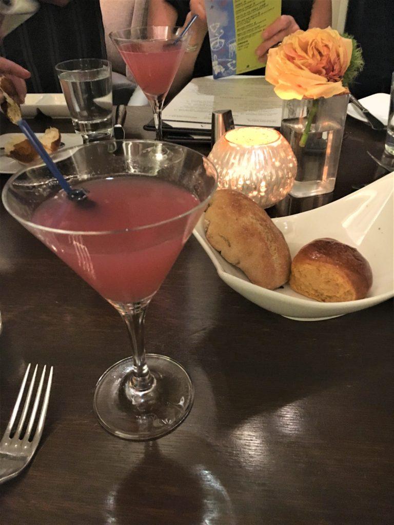 Blueberry Martini at Raya