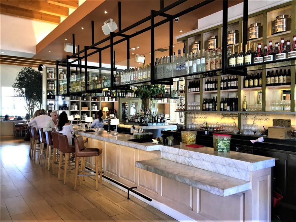 Fig & Olive Bar Area
