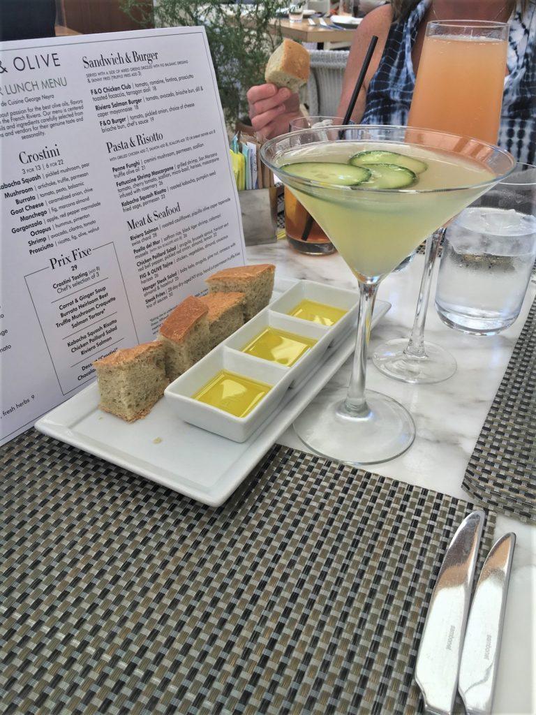 Fig & Olive Cucumber Martini