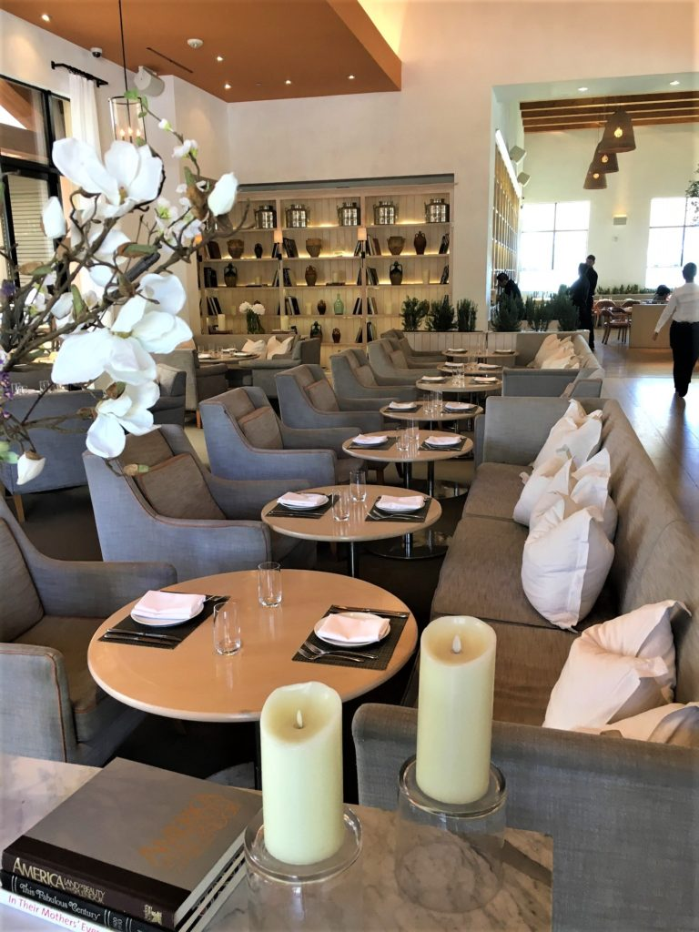 Fig & Olive Dining Area