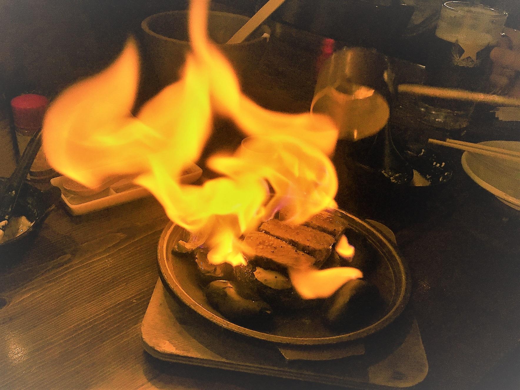 Robata Jinya - Wagyu Beef Lava Stone Grill - Finale