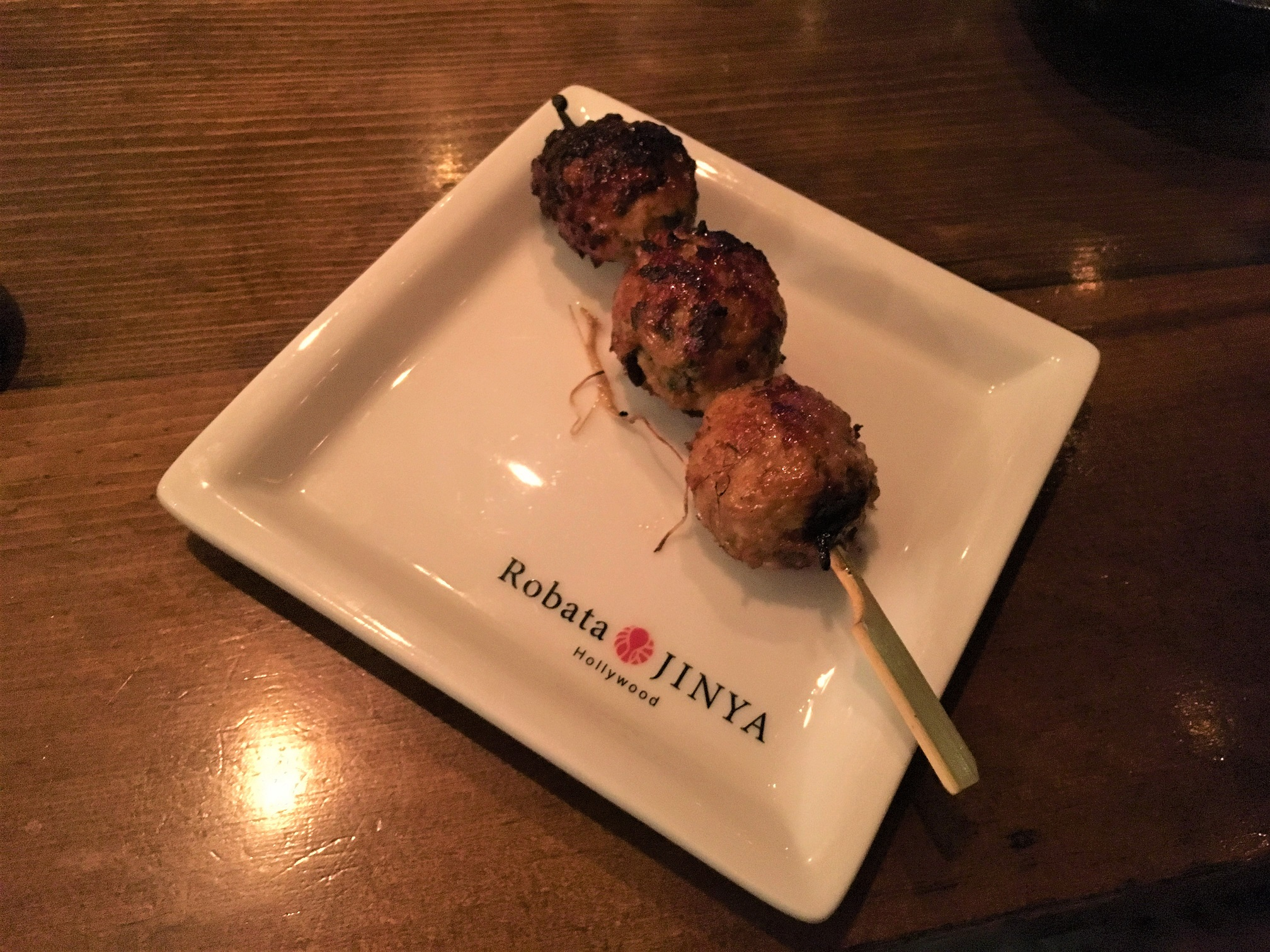 Robata Jinya - Tsukune (Chicken Meatballs)