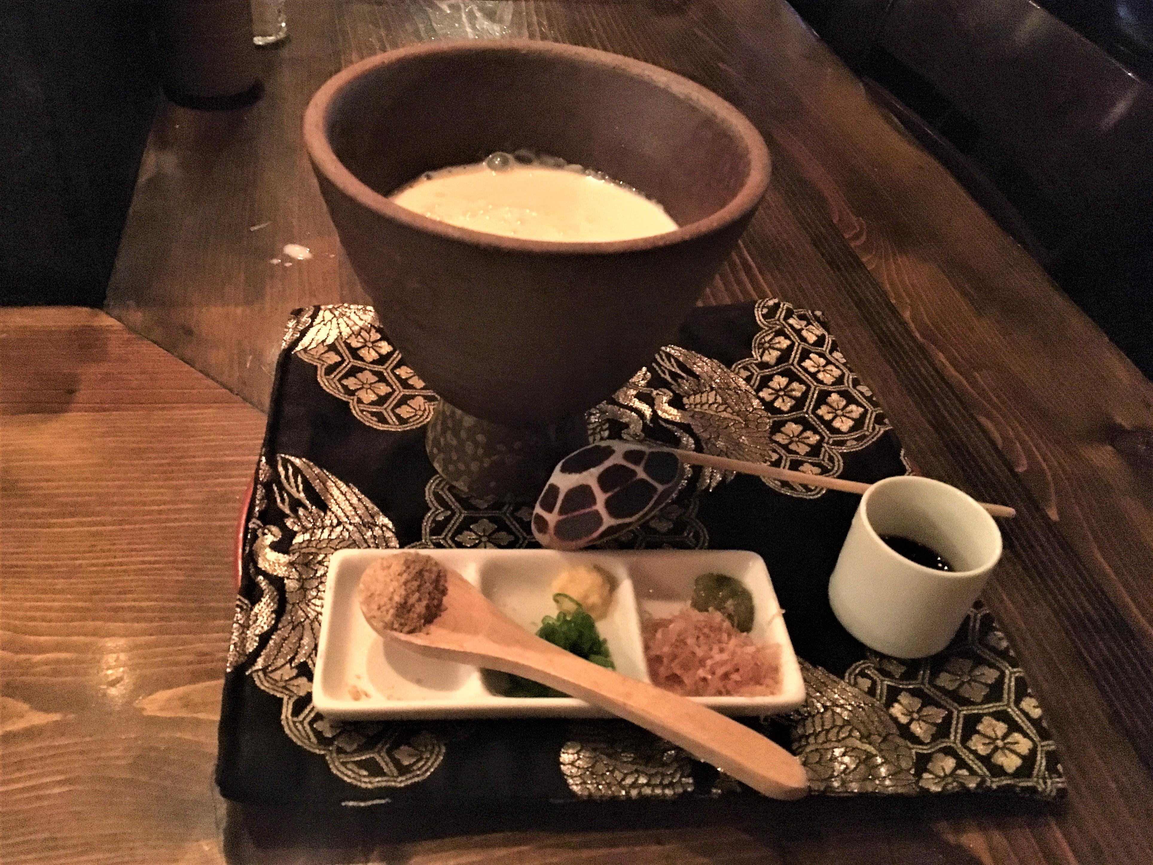 Robata Jinya - Homemade Tofu