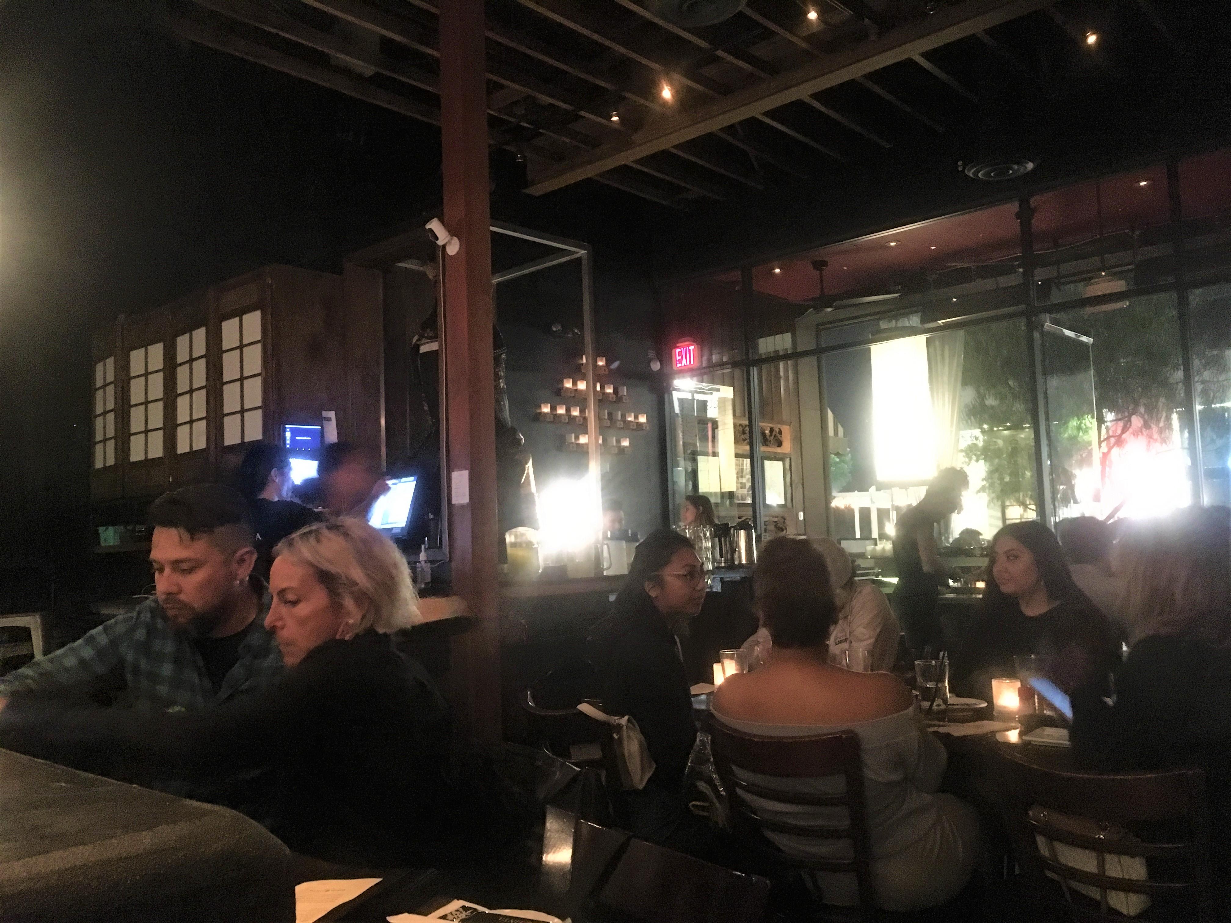 Robata Jinya - View from the Sushi Bar